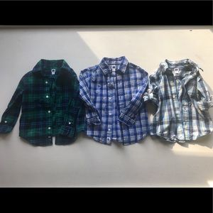 2T Janie & Jack Toddler Dress Shirts (3)